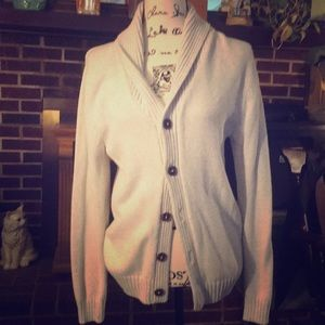 Old Navy button sweater/long cardiganEUC